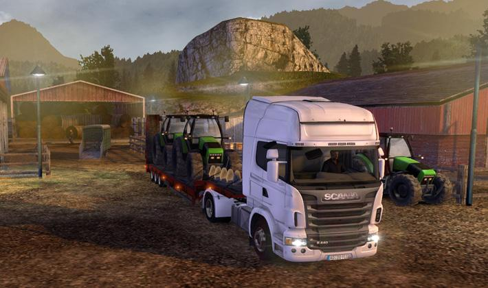 ������� ������� Euro Truck Simulator 2: Trucks & trailers (2011/PC ...